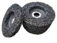 5 x Rostio CSD Scheibe 125 mm schwarz Set für Winkelschleifer